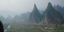 Mountains of Rong Shui, China, birthplace of Shoe and Apparel Manufacturing Expert, Winnie Peng_Header image