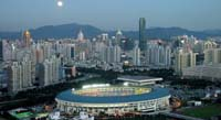 Shenzhen Sports Stadium at night_header image 2